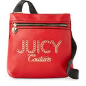 Juicy Couture Lime Light Crossbody Red Color